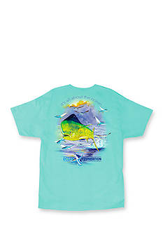 Guy Harvey All About The Ocean Short Sleeve Graphic Tee