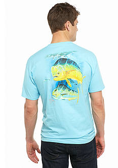 Guy Harvey Short Sleeve Two Bulls Graphic Tee
