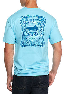 Guy Harvey Moonshine Short Sleeve Graphic Tee