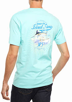 Guy Harvey Short Sleeve Island Time 30th Anniversary Graphic Tee