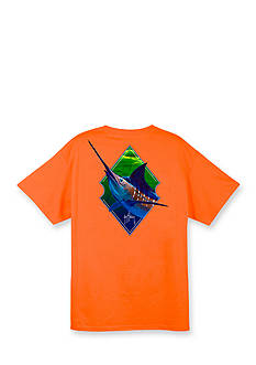 Guy Harvey Short Sleeve Blue Diamond II Graphic Tee