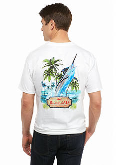Guy Harvey Short Sleeve Best Dad Father's Day Graphic Tee
