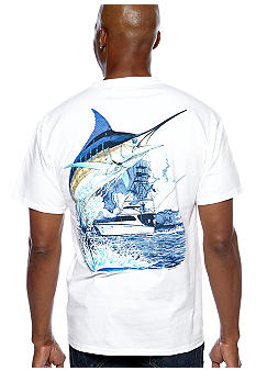 Guy Harvey® Marlin Boat Tee