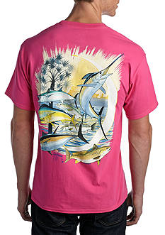 Guy Harvey Palmetto Moon Tee