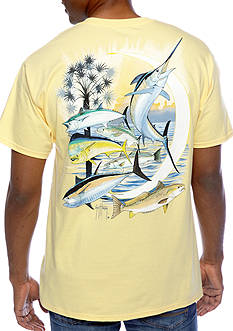 Guy Harvey® Palmetto Moon Tee