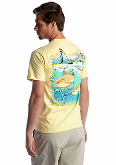 Guy Harvey® Sub Above & Below Graphic Tee