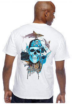 Guy Harvey Pirate Reef Pocket Tee