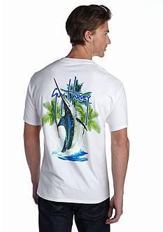 Guy Harvey Palm Tree Splash SS Tee