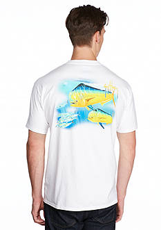 Guy Harvey Double Dorado Short Sleeve Graphic Tee