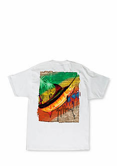 Guy Harvey Short Sleeve Burnin' Graphic Tee