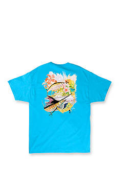 Guy Harvey Short Sleeve Tobago Graphic Tee