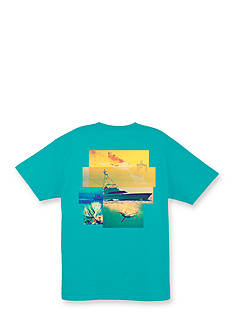 Guy Harvey Short Sleeve Tagged Graphic Tee