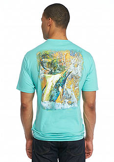 Guy Harvey Short Sleeve Tapestry Graphic Tee