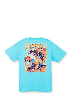 Guy Harvey Short Sleeve Large Mouth Lunge Graphic Tee
