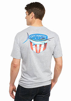 Guy Harvey Short Sleeve Down Home Americana Graphic Tee