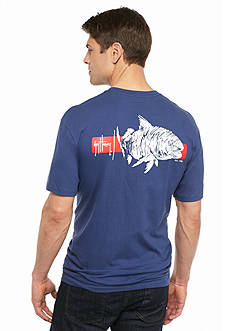 Guy Harvey Short Sleeve Ginger Americana Graphic Tee