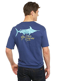 Guy Harvey Short Sleeve Sprint Graphic Tee