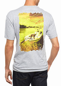 Guy Harvey Short Sleeve Milo Graphic Tee