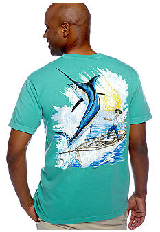 Guy Harvey Vintage Old Man Pocket Tee