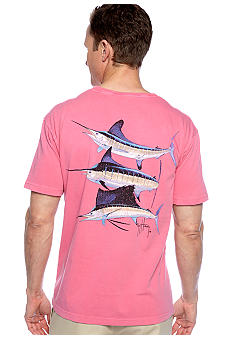Guy Harvey Vintage Grand Slam Pocket Tee