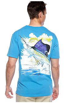 Guy Harvey Vintage Contender Pocket Tee