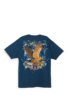 Guy Harvey Auburn War Eagle Short Sleeve T-Shirt