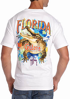 Guy Harvey University of Florida Gators Short Sleeve Graphic Tee