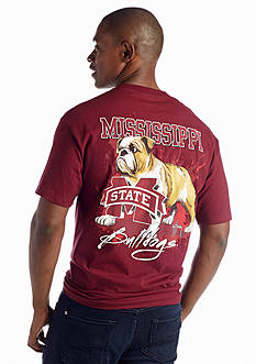 Guy Harvey Mississippi State Bulldogs Short Sleeve Graphic Tee