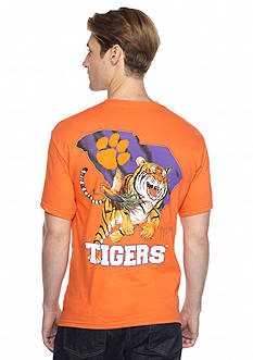 Guy Harvey Clemson Tiger Stripes Short Sleeve Graphic Tee
