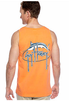 Guy Harvey Vintage Marlin Oval Pocket Tank
