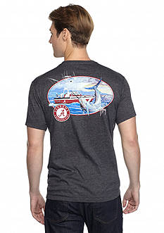 Guy Harvey University of Alabama Fishing Club Short Sleeve Graphic Tee