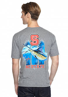 Guy Harvey North Carolina State Wolfpack Triple Threat Short Sleeve Graphic Tee
