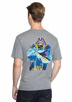 Guy Harvey East Carolina Pirates Triple Threat Short Sleeve Graphic Tee