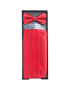 Madison Cummerbund and Bow Tie Set