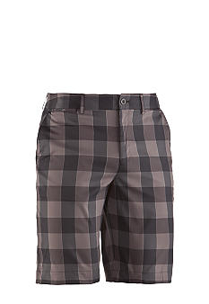 Under Armour UA Square Plaid Golf Shorts