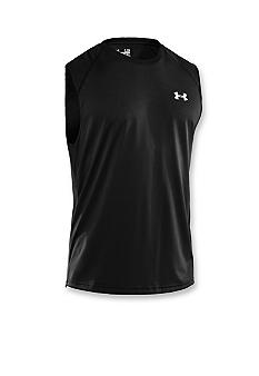 Under Armour Black Sleeveless Tech Tee