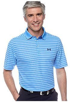 Under Armour UA Draw Stripe Pique Polo