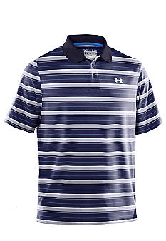 Under Armour Heather Stripe Polo
