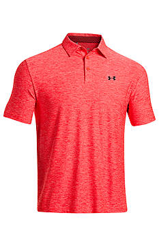 Under Armour® Elevated Heather Stripe Polo