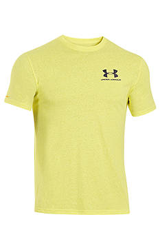 Under Armour® Charged Cotton® Tri-Blend Logo Tee