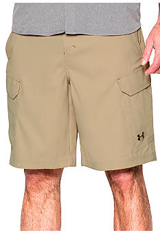 Under armour fish hunter cargo shorts belk for Under armour fishing shorts