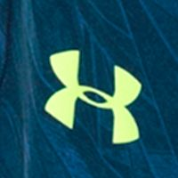 Basketball Clothes for Men: Squadron/Fuel Green Under Armour 10-in. Raid Printed Short