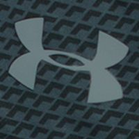 Basketball Clothes for Men: Black/Steel Under Armour 10-in. Raid Printed Short
