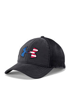 Under Armour Big Flag Logo Mesh Cap