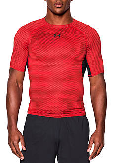Under Armour Short Sleeve HeatGear®, Armour Printed Compression Shirt
