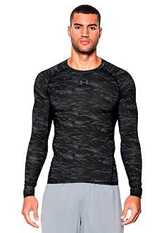Under Armour HeatGear® Armour Printed Long Sleeve Shirt