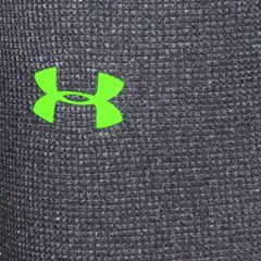 Mens Under Armour®: Stealth Gray/Hyper Green Under Armour Amplify Thermal Leggings