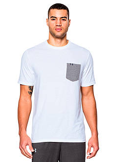 Under Armour Tri-Blend Pocket Solid Tee