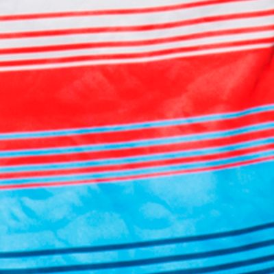 Mens Athletic Swimwear: Rocket Red/Electric Blue Under Armour Reblek Board Shorts