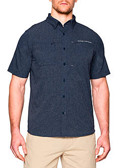 Under Armour ArmourVent™ Solid Short Sleeve Woven Shirt